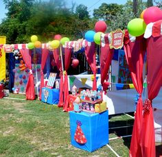 Carnival Booth PVC Frame Plans - DIY Carnival Booths - Customizable Fair booths- red plastic table cloths?