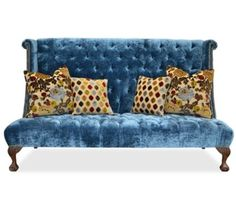 Haute House Furniture Tiburon settee| Highback sofa/banquette seating