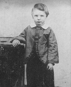 The earliest known image of Willie Lincoln; In 1862 Mary's favorite son, Willie, died in the White House. This led to a tormented period of mourning. According to Elizabeth Keckley, Mary's seamstress, her grief was so overbearing that Mr. Lincoln warned she would have to be sent to an asylum if she couldn't control it.