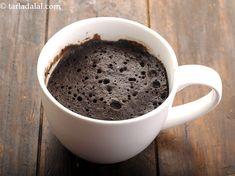 eggless chocolate mug cake recipe Microwave Chocolate Mug Cake, Mug Cake Microwave, Chocolate Mug Cakes, Microwave Recipes, Mug Recipes, Polish Recipes, Cake Recipes, Polish Food, Cheap Clean Eating