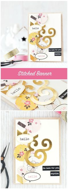 A stitched banner is a great way to showcase a variety of patterned papers. Find out more by clicking the following link: http://limedoodledesign.com/2015/09/stitched-banner-blog-hop/