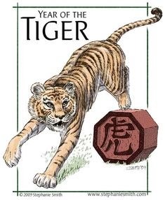 1974, the year of the Tiger in the Chinese Zodiac.