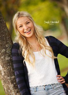 Gorgeous girl senior photos