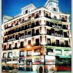 Asturias Hotel, Madrid Travel Memories, Madrid, Spain, Multi Story Building, Hotels, Gallery, Places, Life, Roof Rack