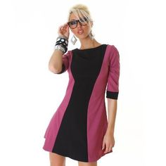 celebrity style formal skater dress slim bandage purple black UK one size Girls Dream, Every Girl, Purple And Black, Skater Dress, Online Price, Celebrity Style, Dresses For Work, Slim, Formal