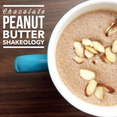 Tates like a peanut butter cup! Chocolate Protein Shakes, Chocolate Shakeology, Peanut Butter Cups, Chocolate Peanut Butter, Erin Rose, Protein Shake Recipes, Chocolate Peanuts, Sweet Tooth, Oatmeal