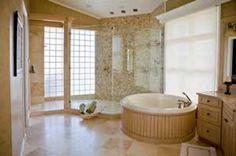 Spa bathroom themes on pinterest spa bathroom decor zen for Spa themed bathroom ideas