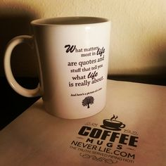 What Matters Most in Life funny by CoffeeMugsNeverLie on Etsy.  I need this mug if anyone needs a gift idea :)