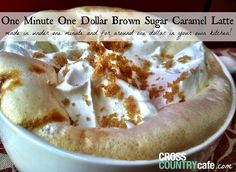 How to make Brown Sugar Caramel Latte with your Keurig brewer!