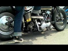 Vintage Harley Knuckle Pan Wl Shovel Run!! Bobber&Chopper