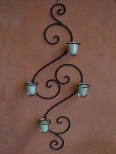 wrought iron wall art... love  Visit stonecountyironworks.com for more amazing…