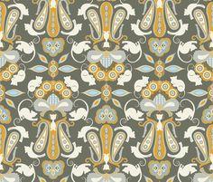 Duchess Damask fabric by mag-o on Spoonflower - custom fabric