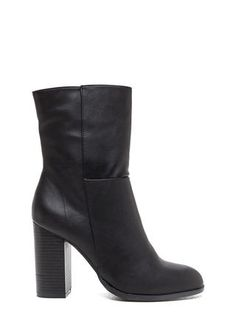 Black Shemale Leather Kinky Boots