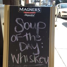 Soup's on...Time for lunch :-)