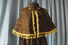 Victorian Cape and Skirt  Dickens Festival Costumes for Women  OOAK Christmas pagents carolers