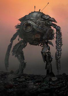 robot, Andrei Riabovitchev on ArtStation at https://www.artstation.com/artwork/robot-e3919d30-0d87-4754-964f-5b08433683d0