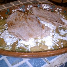 Chilaquiles Con Bistec @ Don Checho