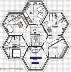 Hexagon rooms