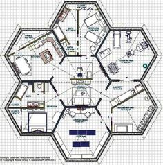 Hexagon rooms