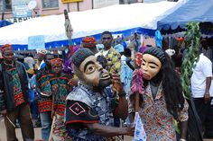 Traditional Dance Bamenda, Cameroon by jennifermcquhae, via Flickr