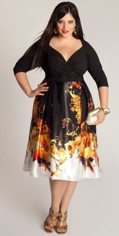 b1cdd2ba444 When you want a cocktail party dress that has style and super sexy  femininity look to · Plus Size FashionCurvy ...