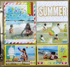 Solange Marques: Summer Misc Me BoBunny 12x12 Lemonade Stand collection