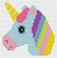 Sew Simple Unicorn Starter counted cross stitch kit by Fat Cat Cross Stitch, one. - Sew Simple Unicorn Starter counted cross stitch kit by Fat Cat Cross Stitch, one… – - Cross Stitch Patterns Free Easy, Unicorn Cross Stitch Pattern, Crochet Unicorn Pattern, Cross Stitch Beginner, Cross Stitch For Kids, Simple Cross Stitch, Cross Stitch Baby, Cross Stitch Animals, Counted Cross Stitch Kits