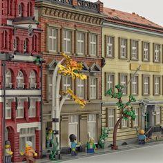 Big Lego, Cool Lego, Lego Army, Web Design, Lego Modular, Custom Lego, Lego Building, Lego Creations, Old City