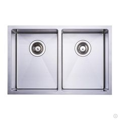 Handmade Stainless Steel Kitchen Sink Double Bowl Under Mount 16 Gauge $229.99
