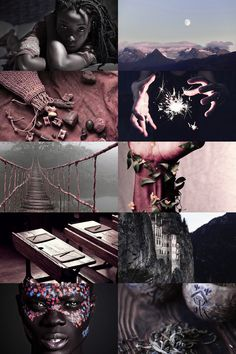 uagadou aesthetic // The largest of all wizarding schools, it welcomes students from all over the enormous continent. The only address ever given is 'Mountains of the Moon'; visitors speak of a stunning edifice carved out of the mountainside and shrouded in mist, so that it sometimes appears simply to float in mid-air.