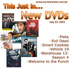 New DVDs July 23, 2013
