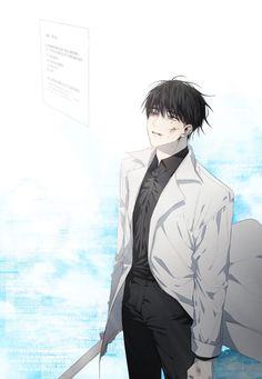 Dark Anime Guys, Cute Anime Guys, Cute Anime Couples, Chica Anime Manga, Anime Art, Manhwa, Character Art, Character Design, Cute Love Pictures