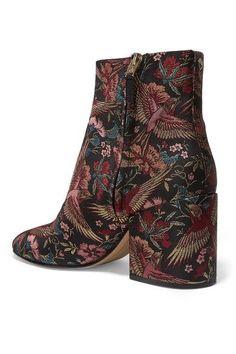 Sam Edelman - Taye Jacquard Ankle Boots - Black - US10.5