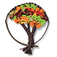 How to Weave an Autumn Tree   Crafts   Spoonful