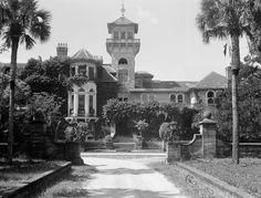 Ruins of the Dungeoness House - Cumberland Island, GA - original state