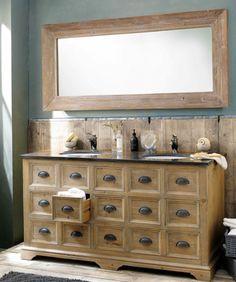 Mobile doppio lavabo ST QUENTIN - Maison du Monde | Shelter Planning ...
