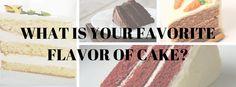 Cake Flavor Poll | CakeJournal.com