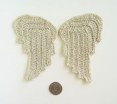 Crochet PATTERN Angel Wings  Two Styles  by SimplyCollectible, $6.99
