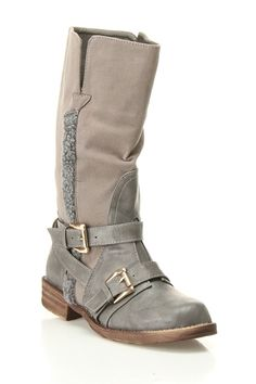 LOVE these boots - the color is awesome and the style is very cute