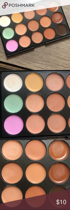 Contour Palette Only used once Selling because contouring is not my thing lol Makeup Foundation