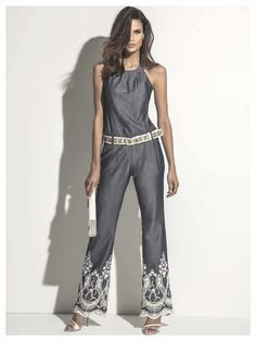 Maria Valentina, Ideias Fashion, Jumpsuit, Pants, Dresses, Clubbing Outfits, Going Out Clothes, Style, Overalls