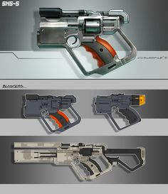 Slump Guns by ~Spex84 on deviantART #concept #art #creative #conceptart #reference #draw #sketch #speedpainting #digital #painting #speedpaint #paint #how to #tutorial #weapon #gun #future