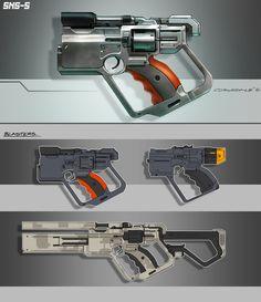 Slump Guns by ~Spex84 on deviantART #concept #art #creative #conceptart #reference #draw #sketch #speedpainting #digital #painting #speedpaint #paint #how to #tutorial #weapon #gun #future