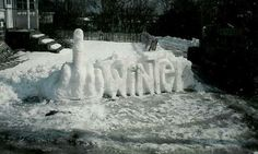 I hate winter!