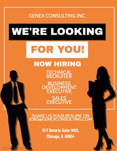 We are looking for candidates who have got experience in US Staffing industry and can join our onsite office in Chicago,IL  Below are our open positions -   1) Technical Recruiter 2) Business Development Executive 3) Sales Executive  *Candidate must be authorized to work in US without sponsorship.  #GenexJobs #Consulting #Staffing #Recruiter #Business #Sales #Executive #Technical #Chicago #Job #Visa #Cosultancy #H1b #Hiring Job Opening, Resume, Chicago, Join, Business Sales, Positivity, Money, Silver, Cv Design