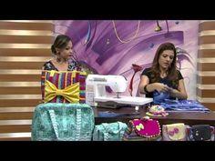 Mulher.com - 21/09/2015 - Bolsa em costura criativa - Lia Pavan PT2 - YouTube