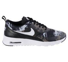 Fraaie Nike Air Max Thea Print Sneakers Dames (zwart - wit - grijs) Sneakers