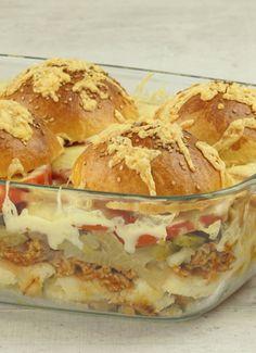 Burgerauflauf: schnell und einfach zubereitet von Evas Backparty