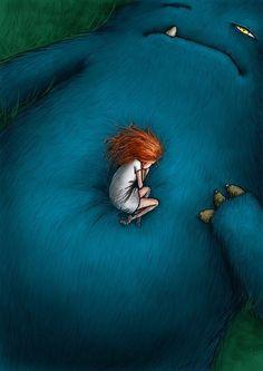 Goro Fujita is creating Live Painting and Animation Tutorials - Art Prints Monster Book Of Monsters, Cute Monsters, Monster Art, Art And Illustration, Illustrations, Monster Illustration, Fantasy Kunst, Fantasy Art, 480x800 Wallpaper