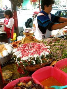 This makes me want to go to Mexico!! Mexico City Street Food